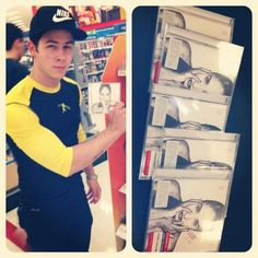 Look at this guy... Said he bought every copy they had..!!! Love you @Nick Jonas, you are the best!!!! 😊