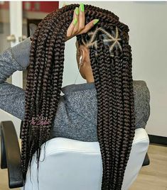 Best 2019 Braided Hairstyles : Braiding, Box Braids, Cornrows and Weaves For You - Coiffure Ghana Braids Hairstyles, Box Braids Hairstyles For Black Women, African Hairstyles, Weave Hairstyles, Braids Cornrows, Protective Hairstyles, Black Hair Braid Hairstyles, Teenage Hairstyles, Pretty Hairstyles