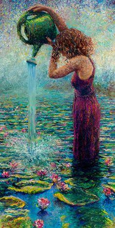 Iris Scott - Thirsty Water Lilies