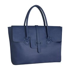 """Zink's royal blue Jaunt Handbag is made in the US and from vegan materials. Not only that but they """"pay it forward"""" with 10% going to Dress for Success. A feel-good holiday gift for any woman! #emergingbrands #supportsmallbusiness"""