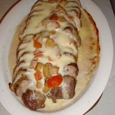 Fläskfilé med mozzarella - Recept - Tasteline.com