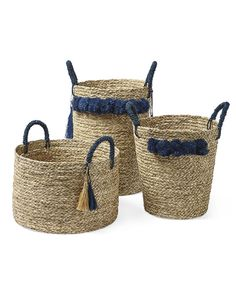 Tassel BasketTassel Basket