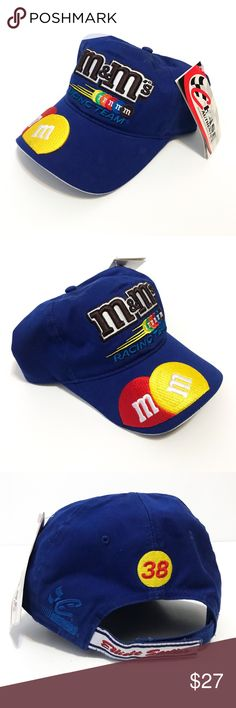 eb7bb98e1b129 Chase Authentics Nascar Hat M Ms Racing Team 38 Chase Authentics Nascar Hat  M Ms Racing Team 38