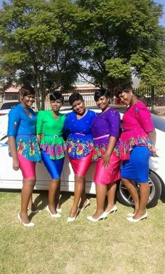 Xitsonga culture. Bridesmaids.....