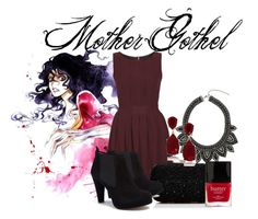 Mother Gothel by fairytale49 on Polyvore featuring polyvore, fashion, style, WalG, Ganni, Forever New, Dorothy Perkins, Kenneth Jay Lane, Butter London and clothing