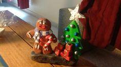Figura Genjibre Navidad arcilla