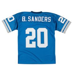 fa93b2ac5 ... Throwback Authentic Proline Helmet Barry Sanders 1993 Authentic Jersey  Detroit Lions Mitchell Ness Nostalgia .