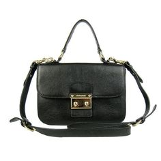 Miu Miu Handbag Crossbody 1881 Black