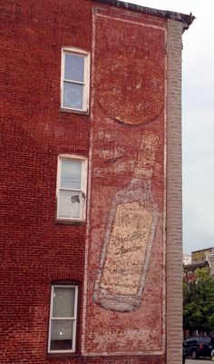 Distilled London Ghost Sign in Baltimore