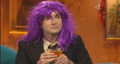 DT in a purple wig. Your argument is invalid.