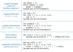While and for loops in Java