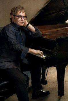 Elton John by Annie Leibovitz