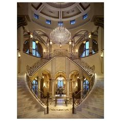 25 Beautiful Grand Staircase Design Ideas For Amazing Home Double Staircase, Grand Staircase, Staircase Design, Take The Stairs, Grand Entrance, Grand Entryway, Main Entrance, House Goals, Luxury Interior