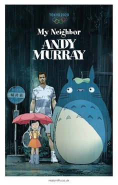 Andy Murray, Tokyo 2020, Olympics, Movie Posters, Movies, Art, Art Background, Films, Film Poster