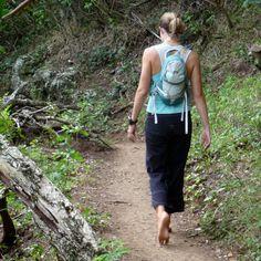 woman walking barefoot - Google Search