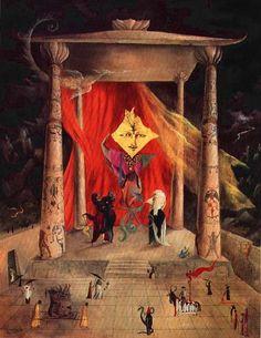 El templo de la palabra - Leonora Carrington