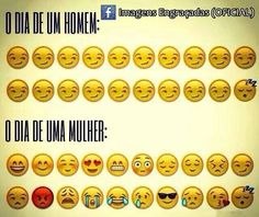 Translation: - men during the day - women during the day Hi Gorgeous, My Romance, Top Memes, Top Funny, Decir No, Have Fun, Messages, Feelings, Words
