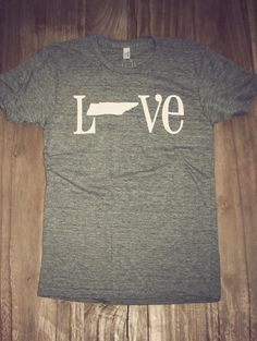 Classic State Love Tee- Tennessee