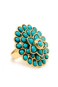 I love big Rings In Turquoise