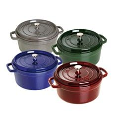 Staub Round Cocottes - Bloomingdales