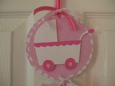 Baby Girl Hospital Door Banner  Baby Girl Shower by KatlinLee123,