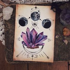 Image result for herb crystal tattoo