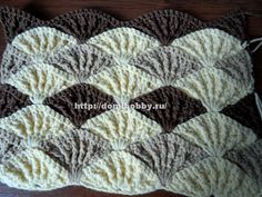 Shell stitch - Photo tutorial