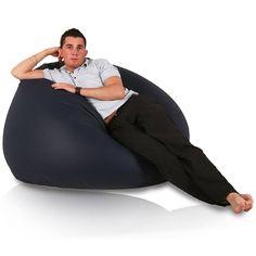 Relax XL babzsákfotel - sötétkék Bean Bag Chair, Relax, Furniture, Home Decor, Decoration Home, Room Decor, Beanbag Chair, Home Furnishings, Home Interior Design