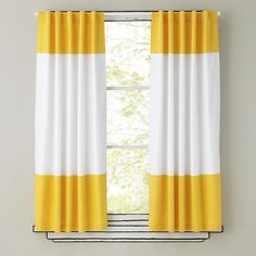 """The simple design of these curtains allows them to match a variety of décor while simultaneously adding a nice splash of color. Grab a few and live on the edge.<br /><br /><NEWTAG/><h2>Details, details</h2><ul><li> Add a pop of color to any room</li><li> Allows natural light to filter through</li><li> Can be hung using 3"""" rod pocket or hidden back tabs</li><li> Curtains are available in 3 lengths: 63"""", 84"""" and 96"""" x 44"""" wide</li><li> Curtains are sold individually</li><li> Imported</li><li…"""