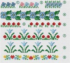 Free Crossstitch Border Patterns Online