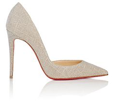 We Adore: The Iriza Half D'Orsay Pumps from Christian Louboutin at Barneys New York