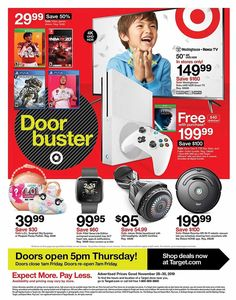 Target Black Friday 2019 Ads and Deals Browse the Target Black Friday 2019 ad scan and the complete product by product sales listing. Black Friday News, Black Friday 2019, Conversation Starter Questions, Target Coupons, Cute Room Decor, Weekly Ads, 4k Uhd, Printable Coupons, Cannoli Cupcake