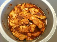 Crockpot- Sweet chilikyckling med jordnötssmör – Lindas mathörna