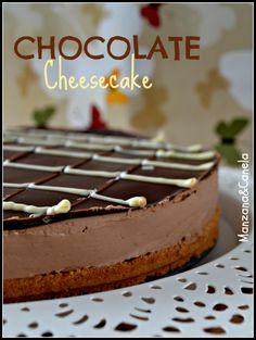 Manzana : Cheescake de chocolate