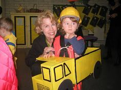 ... made his Dump Truck costume