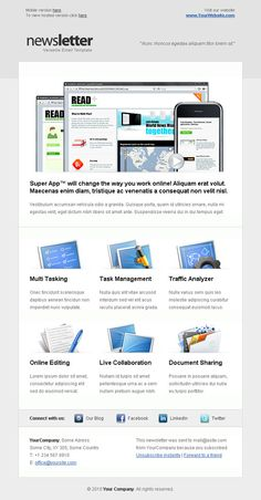 Creative Email Newsletter Templates for Your Brand Marketing Strategy