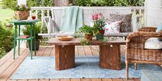 65+ Best Patio Designs for 2017 - Ideas for Front Porch and Patio Decorating