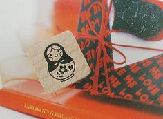Russian Tumbling Doll Matryoshka Stamp - S (0.75 x 0.75in) by WonderlandRoom on Etsy https://www.etsy.com/listing/184545539/russian-tumbling-doll-matryoshka-stamp-s
