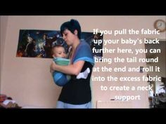▶ Ring Sling with Flipped Shoulder (rings on back) - YouTube