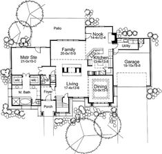 House Plan 65844 at FamilyHomePlans.com
