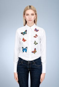 My Carmele Butterfly Blouse — Bora Bohème Fashion Story, New Fashion, Womens Fashion, Daily Look, Smart Casual, Ethical Fashion, New Day, Everyday Fashion, Butterflies