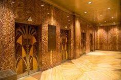 Image result for chrysler building elevator