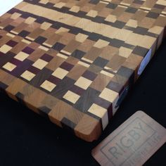 Would you want to have a one of these cutting boards handmade  www.rigbyblock.com. #handmade #etsy #kitchen #food #cooking