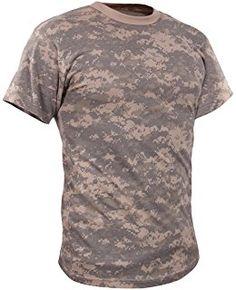 44932510 Camo Tee Shirts, Jean Shirts, Casual Shirts, Camouflage Shorts, Military  Camouflage,