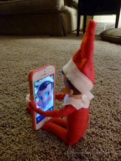 Elf on the Shelf - Its beginning to look a lot like me - Elf changed everyones's computer screen to his picture..Oh No!! -