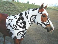 Horse Hood Collection Pattern (includes stretch hood)