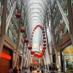 @Natasha Sutila Carter #CityPlace #Toronto #YYZ #Luminato #Festival #AllenLambertGalleria @ #BrookfieldPlace     via Instagram andalemono