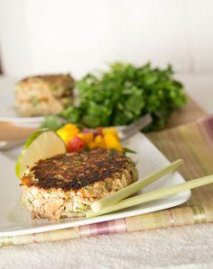 lemongrass crab cakes by kokocooks, via Flickr