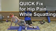 Are you one of those who experience hip pain while squatting? Then check out this video. Here, I share with you some quick fix that will address your hip pai...