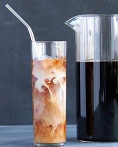 DIY Cold-Brew Coffee recipe from Martha Stewart #NationalCoffeeDay
